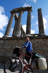 Andrew and Evora's Roman temple