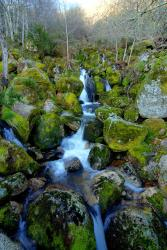 A waterfall in the Zezere valley