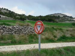 An odd stop sign