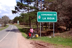 Entering Rioja