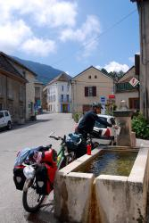 Water stop in Clelles