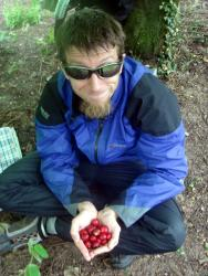 Andrew and his cherries