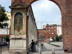 Milan archway