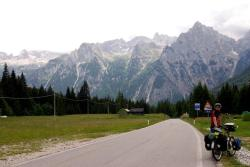 One of our last views of the Dolomites