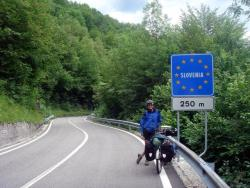 Nearly into Slovenia