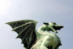 Dragon Bridge in Ljubljana