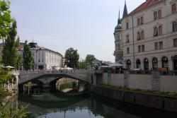 Bridges and canals in Ljubljana