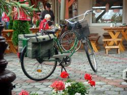 Hungarian post office bike