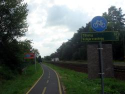Lake Balaton bike path
