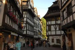More half-timbered buildings