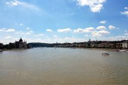 Our first view of the Danube