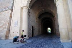 Esztergom archway under the Basilica