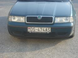 Slovakian license plate