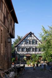 Half-timbered houses