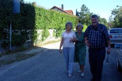 Ursula, Gertrud and Paul