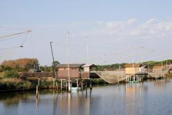Typical fishing huts