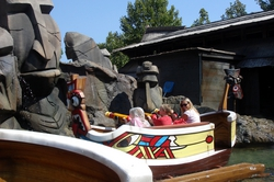 The Raratonga water ride