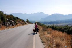 Tackling the hills in northern Greece