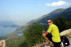 A good view back toward Ioannina