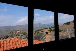 Through the monastery window