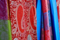 Colourful scarves for sale