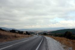 On the road to Bergama