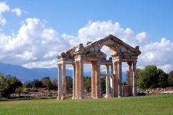 The main gate at Aphrodisias
