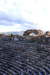 Seats at the Aphrodisias theatre