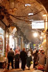 Aleppo's alleyways