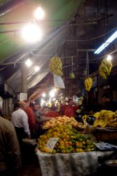 Nightime veg market