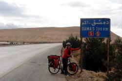 Damascus, just 100km away