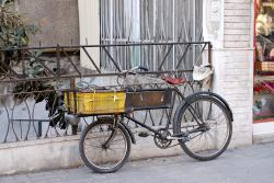 Typical Damascus delivery bicycle