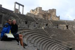 Travelling Two in Bosra