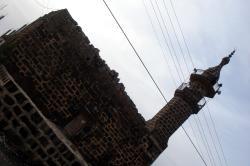 A black basalt mosque