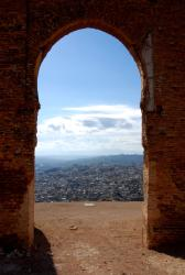 A climb to the Merinid tombs in Fes