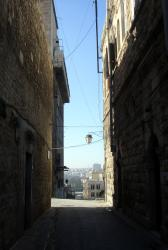 A little alleyway in Aleppo