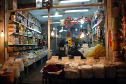 A food shop in the souk