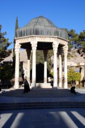 Where Hafez is buried