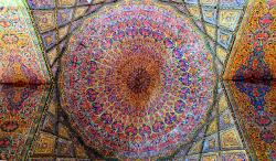 Ceiling of the Nasir al-Mulk mosque