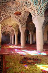 Our first look at the mosque's most stunning room