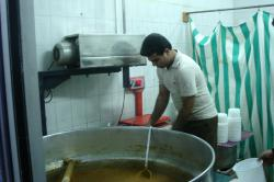 Making osh soup in Borazjan