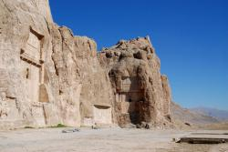 The tombs of Naqsh-i-Rostam