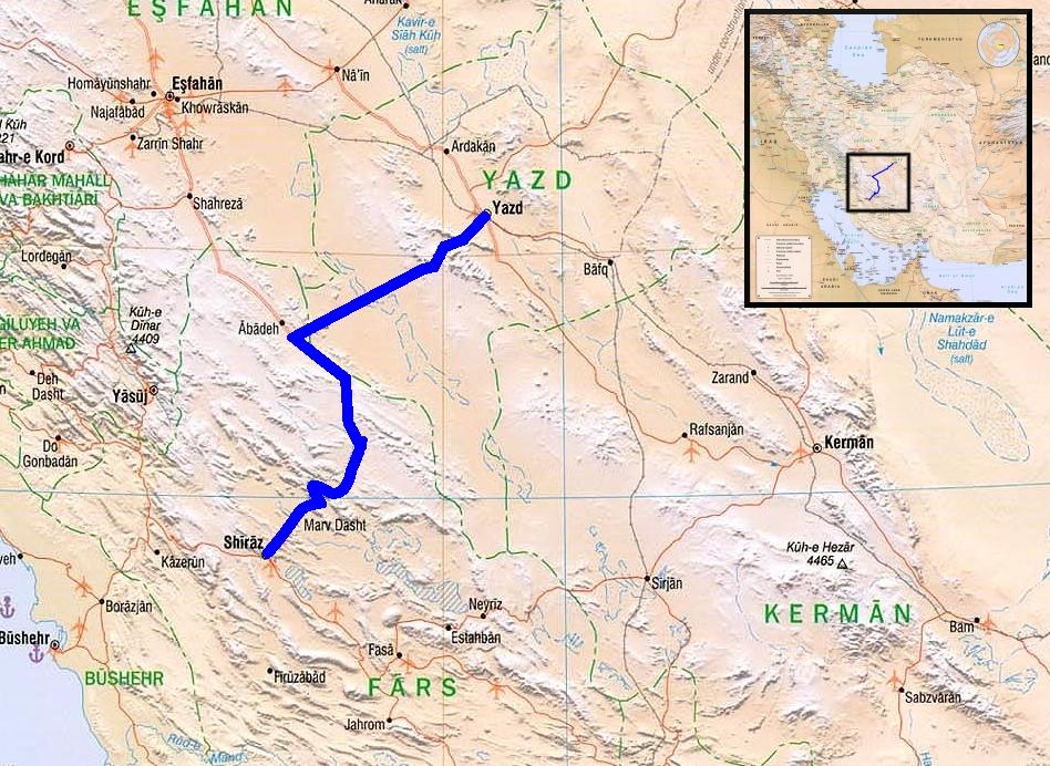 Iran Route 2
