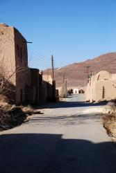 The Zoroastrian village