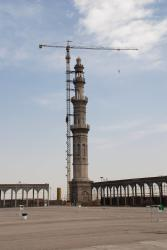 They are extending the mosque