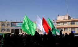 Flags of colour for Arbaeen
