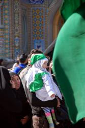 A baby at the Arbaeen ceremony