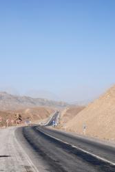 The winding road to Saghand