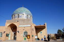 The shrine in Saghand