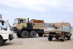 A selection of Turkmen trucks